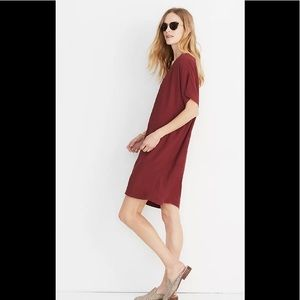 Madewell Button-Front Easy Dress size XL